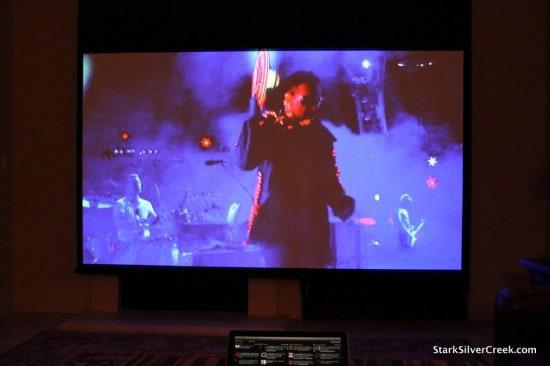 U2 performs Ultraviolet, 360 LA