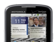 Motorola Droid Pro: Available from Verizon first week of November