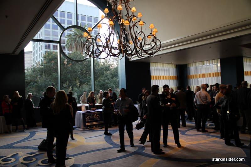 Pre-event reception
