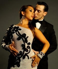 Cheryl Burke and Jorge Antonio Ezequiel  Photo Credit: Adam Larkey