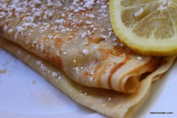Lemon Crepe at Crepes Ooh La La