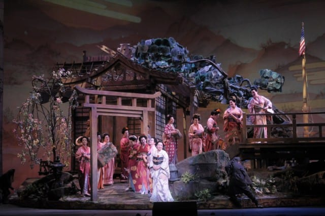 Madama Butterfly at San Francisco Opera. Photo by Dan Rest.