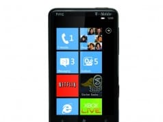Microsoft today announced handsets running Windows Phone 7 including the HTC HD7