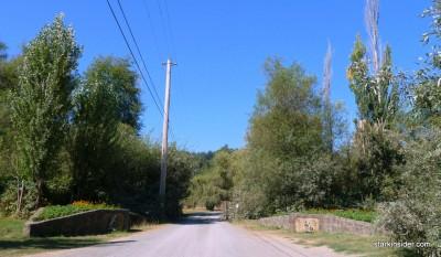 Entrance of Iron Horse Vineyards.