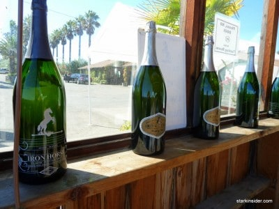 Iron Horse Vineyards makes fine Sparkling Wines, Pinots and Chardonnays.