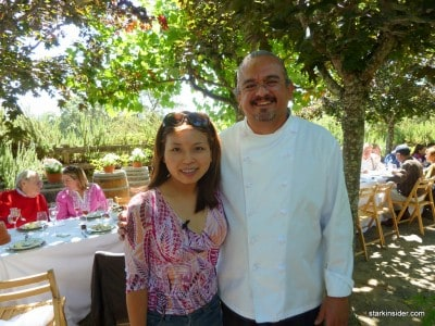 Chef Ruben Gomez and his team created a wonderful picnic brunch.