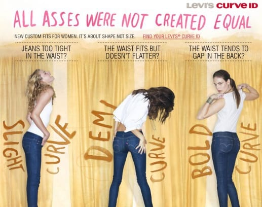 Levis - All Asses were not created equal