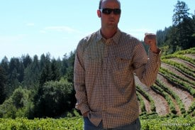 """""""I'll be happy when this harvest is over."""" -- Mount Veeder Winery vineyard manager Matt Ashby discusses the unpredictable season."""
