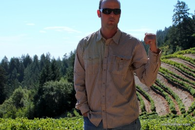 """I'll be happy when this harvest is over."" -- Mount Veeder Winery vineyard manager Matt Ashby discusses the unpredictable season."