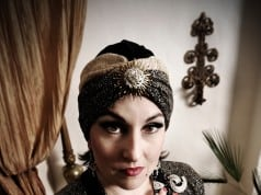 Annmarie Martin plays Norma Desmond in Andrew Lloyd Weber's Sunset Boulevard. Photo by Joyce Goldschmid.