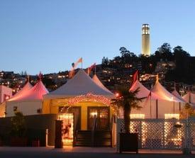 Teatro ZinZanni tent