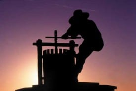 The Grape Crusher Statue - The City of Napa - ©2009, Brent A. Miller
