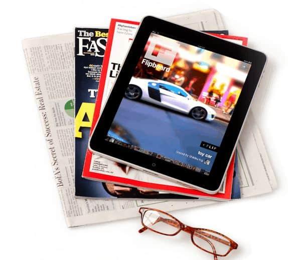 Flipboard social magazine for iPad