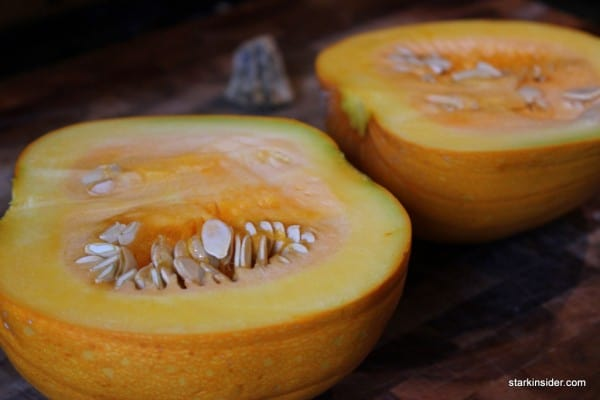 Pumpkin for pumpkin pie