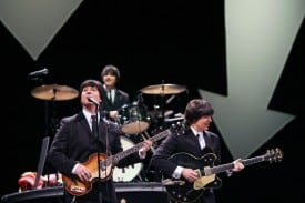 Broadway San Jose presents RAIN, a Tribute to Beatles. Photo credit: Joan Marcus