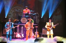 Broadway San Jose presents RAIN, a Tribute to Beatles. Photo credit: Joan Marcus