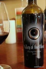 2004 Valley of the Moon Sangiovese - Under $20, a good value.