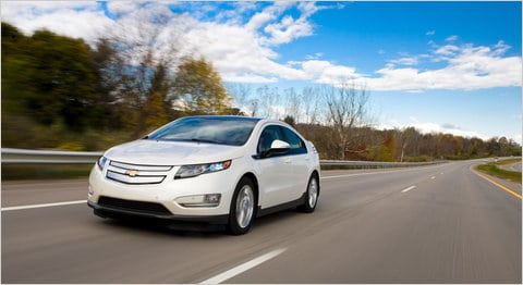 2011 Chevrolet Volt - the least likely to be confused with an Alien Fish.