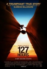 127 Hours starring James Franco