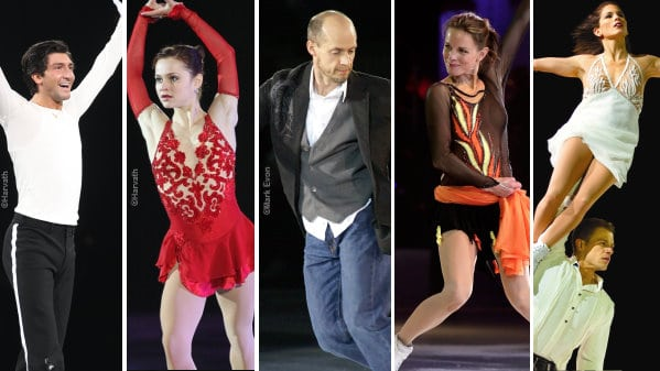 Evan Lysacek and Sasha Cohen will be joined by a stellar cast of world-renowned athletes, including Jamie Salé & David Pelletier, Kurt Browning, Ekaterina Gordeeva and more
