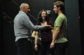 Joe Goode, Jen Urban and Anthony Ferrese