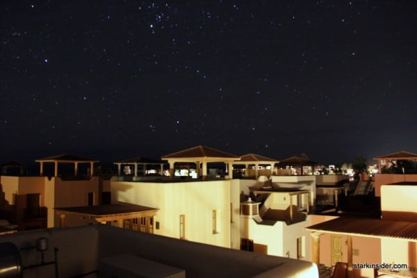 Loreto Bay at night