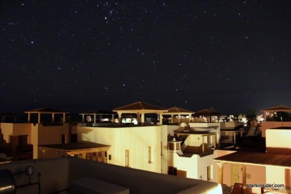 Loreto Bay at night