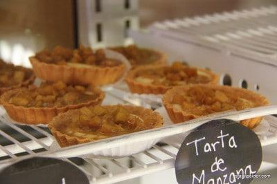 Apple tarts.
