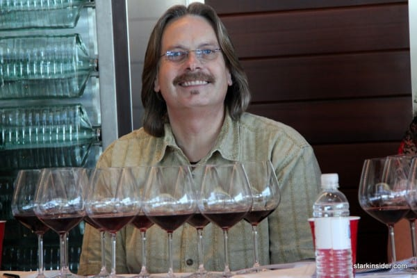 Bob Cabral aka Prince of Pinot - Williams Selyem Winery, one of 6 panelists.