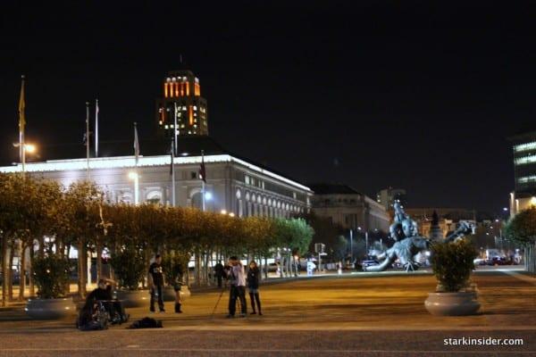 SF Giants Paint town orange