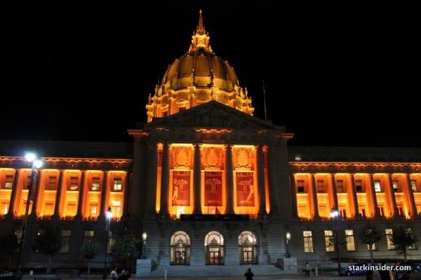 San Francisco City Hall - Pumpkin or Giant Orange?