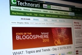 State of the Blogosphere - Technorati Day 2