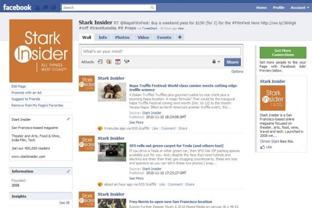 Stark Insider Facebook