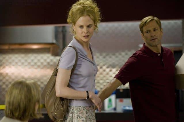 Still of Nicole Kidman and Aaron Eckhart in Rabbit Hole. Photo by DAVID GIESBRECHT – © 2010 - Lionsgate.