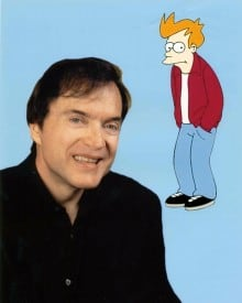 "Pictured: Billy West, Voice of Fry in ""Futurama"" Photo courtesy of Voicetrax"