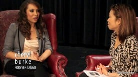 Cheryl Burke talks about Forever Tango.