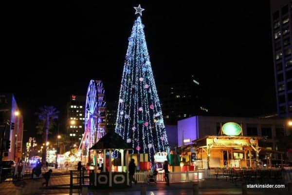 Christmas in the Park, downtown San Jose