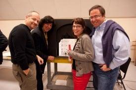 Patrick Summers, Francesca Zambello, Donna DiNovelli and Chrstopher Theofanidis Photo by Kristen Loken Anstey
