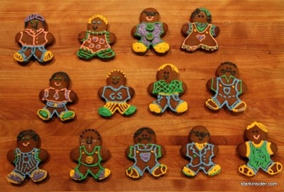 Gingerbread Design Collection 2010, by Loni Kao Stark