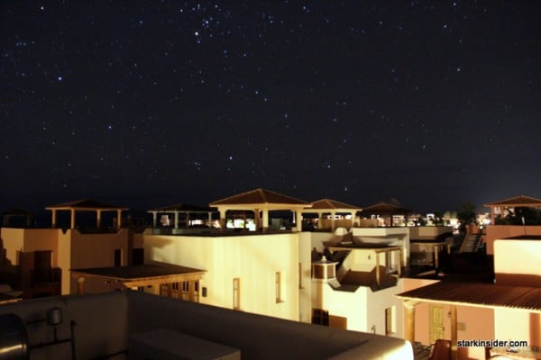 Starry night in Loreto Bay