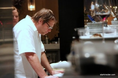 David Kinch of Manresa...completely focused on creating the ultimate truffle dish.