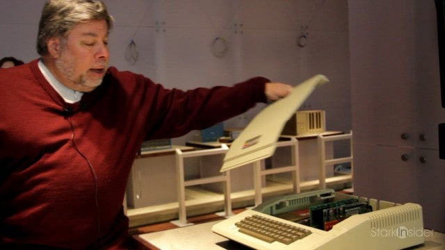Steve Wozniak and the Apple II