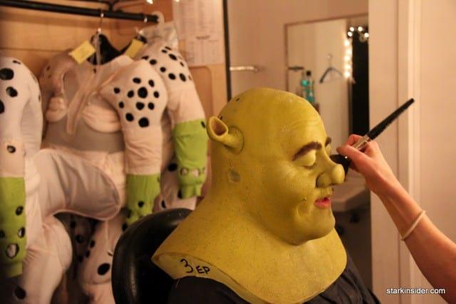 Shrek the Musical, Eric Petersen, Orpheum Theatre San Francisco