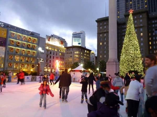 San Francisco In Photos: Holiday ice rink at Union Square | Stark ...