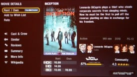Vudu PS3 Inception