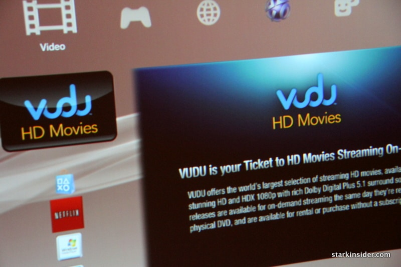 Review: Vudu on-demand video service for PS3 | Stark Insider