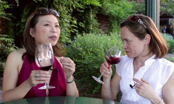 How to taste wine with Andrea Immer Robinson
