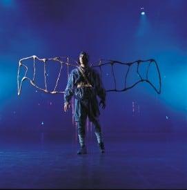 Aviator in Quidam by Cirque du Soleil. Photo by Al Seib.