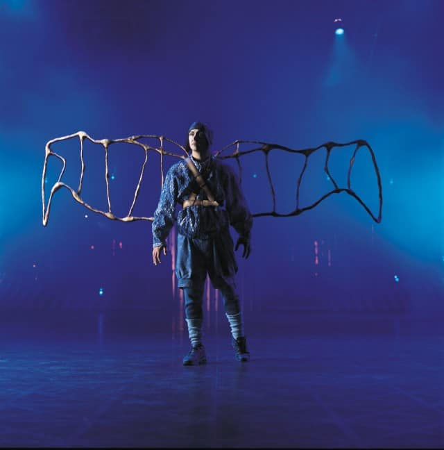 Aviator in Quidam by Cirque du Soleil. Photo by Al Seib.