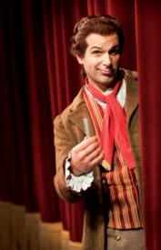 Krassen Karagiozov as Figaro in The Barber of Seville. Photo by Chris Ayers.